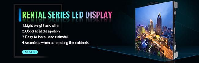 SMD 2121 Led Display Screen Hire P2.5 Ultra Light 160000pixel/㎡ Pixel Resolution