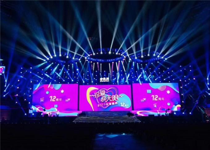 High Brightness Outdoor Rental LED Display , Outdoor Rental Led Screen