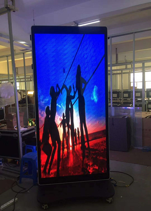 Advertising Effect  P2 Poster LED Display with High refresh 3840Hz