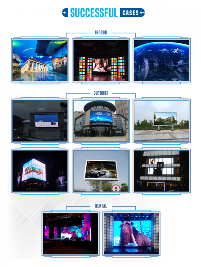 P1.25 COB Poster LED Display Goods Shelf Signage Full Color Screen 1R1G1B