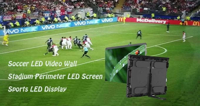 Large Football Stadium LED Display Outdoor Full Color Water Resistant