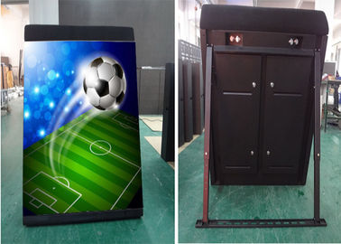 Full Color HD P8 Stadium LED Display Soft Mask Anti Collision With High  Brightness