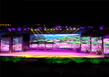 P5 Indoor Rental LED Display SMD3528 High Resolution 40000dots/sqm Pixel