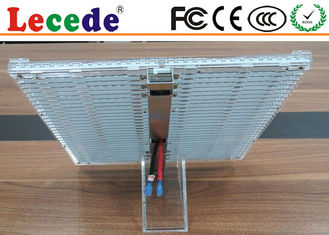 P3.91-5  Led Transparent Screen  Die-casting Aluminum And Standard 1000x1000mm  for Window display