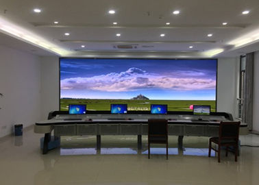 P2 Indoor Fixed LED Display Screen / Led Video Screens with Steel Cabinet
