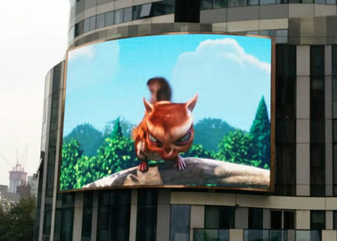 China High Brightness Curved Led Screen P6.67 For Advertising 1R1G1B supplier