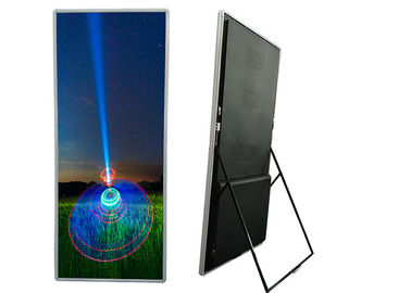 P1.935 Indoor Advertising LED Screen Floor Stand TV Display  for Commercial