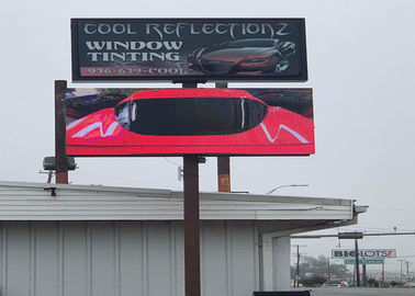Outdoor Advertising Smd Led Display Screen Billboard IP68 8mm 7000 Nits Brightness