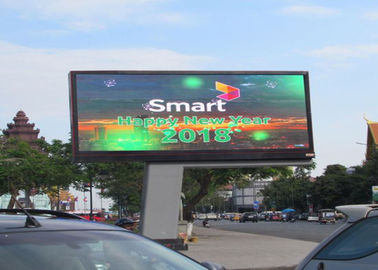 China Commercial DIP P10 Outdoor Front Service LED Display LED sIGN For Business Advertising supplier