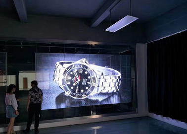 China Big Size Transparent Glass LED Display SMD3535 1R1G1B P10 LED Video Wall supplier
