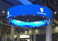 China Round Flexible Curved LED Screen P2.5 mm 160000 dots/sqm For Entertainment company