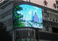 Waterproof Curved Led Panels  Sunshine Resistance Shopping Mall Billboard
