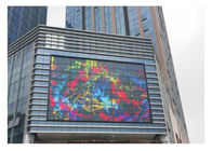 High Gray Scale Transparent Glass LED Display Full Color 4100 Nits Brightness