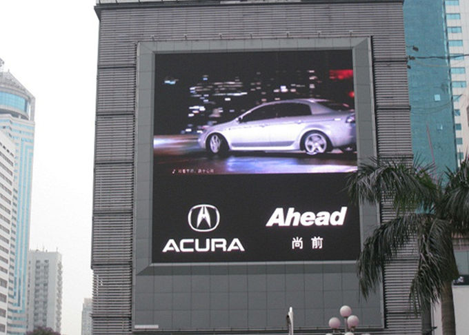 40000 dots/sqm Pixel Full Color LED Display Screen , P5 Full Color Led Display