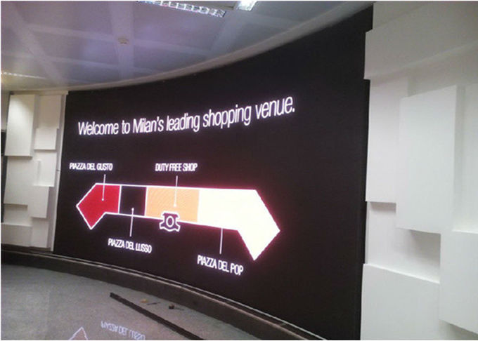 5mm Pixel Pitch Stadium LED Display IP43 Ingress Grade , Indoor Led Video Wall