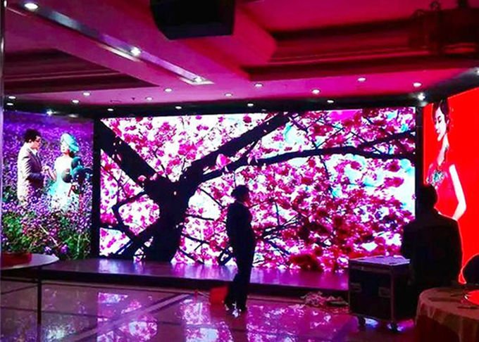 P5 Full Color Outdoor Led Display 1200 Nits Brightness High Refresh For Live Sports