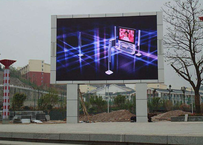 SMD2727 Outdoor Advertising LED Display Screen P6 Full Color 6000 Nits Brightness