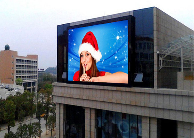 Outside SMD RGB Video Full Color LED Display 48 x 2Matrix High Definition P6.67